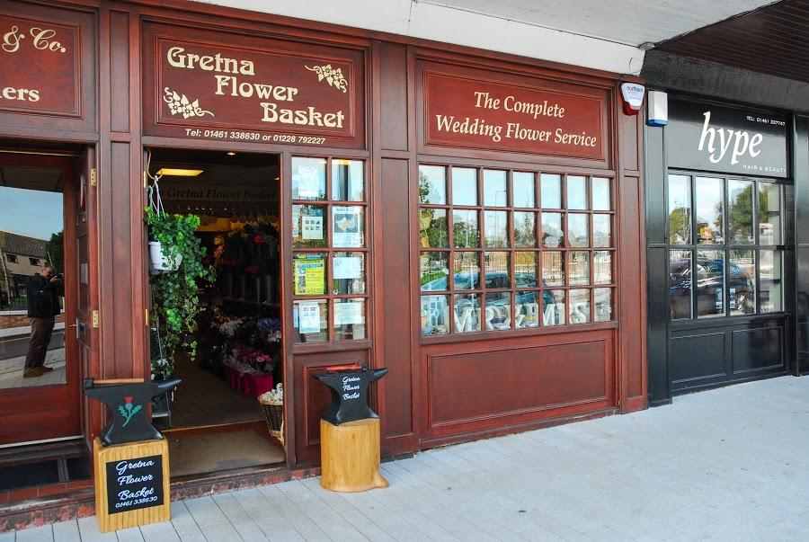 Gretna Flower Basket