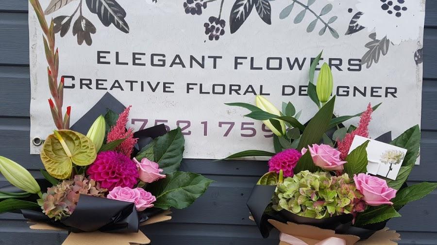 Elegant Flowers by Gemma