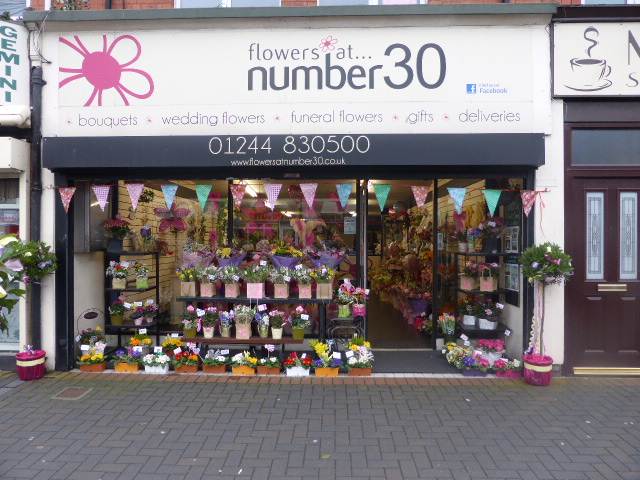 Flowers at Number 30